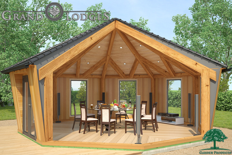 Grand Lodges Wooden Pods