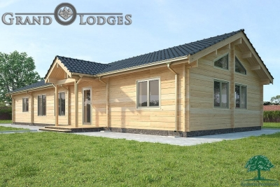 grand lodges log cabin - 1414 - 18.0m x 6.7m - 02