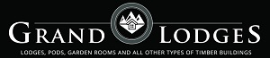 Grand Lodges Log Cabins Logo
