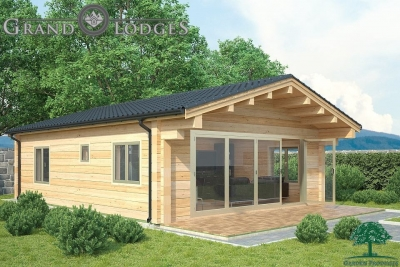 grand lodges log cabin - 0917 - 6.5m x 8.5m - 01