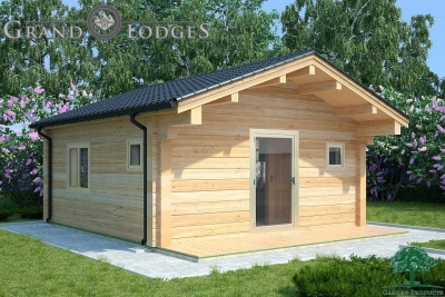 grand lodges log cabin - 0920 - 5.5m x 5.5m - 01