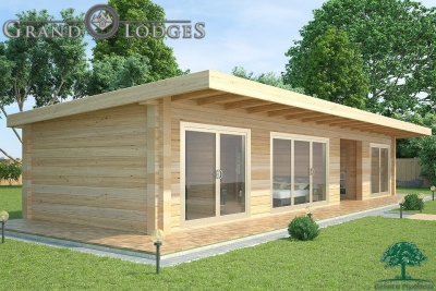 grand lodges log cabin - 0930 - 14.0m x 4.5m - 01