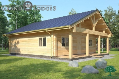 grand lodges log cabin - 1133 - 8.5m x 8.5m - 02