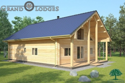 grand lodges log cabin - 1134 - 8.5m x 11.0m - 02