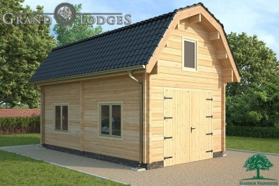 grand lodges log cabin - 1257 - 4.0m x 7.0m - 01