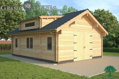 grand lodges log cabin - 1285 - 6.0m x 8.0m - 01