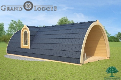 grand lodges campingpod - 1307 - 4.0m x 9.6m - 01