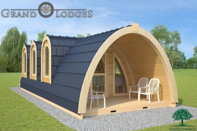 grand lodges campingpod - 1315 - 4.0m x 9.6m - 01