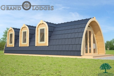 grand lodges campingpod - 1316 - 4.0m x 9.6m - 01