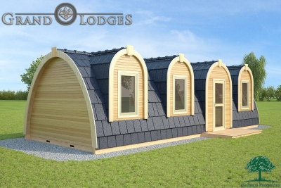 grand lodges campingpod - 1331 - 4.0m x 9.6m - 01