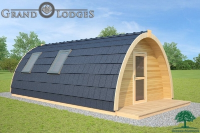 grand lodges campingpod - 1334 - 4.0m x 7.2m - 01