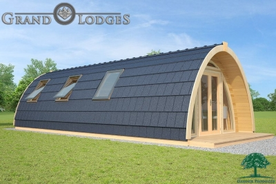 grand lodges campingpod - 1345 - 4.0m x 9.6m - 01
