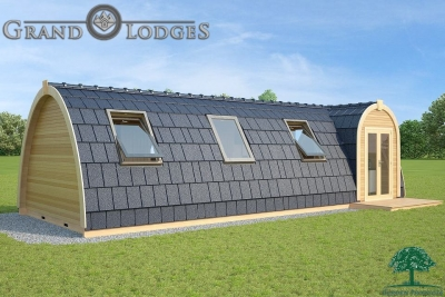 grand lodges campingpod - 1351 - 9.6m x 4.0m - 01