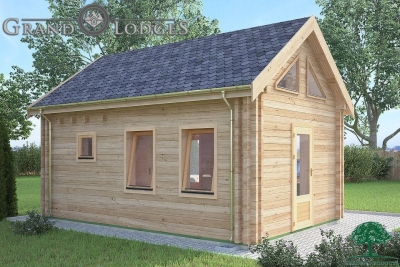 grand lodges log cabin - 0623 - 4.0m x 5.7m - 01