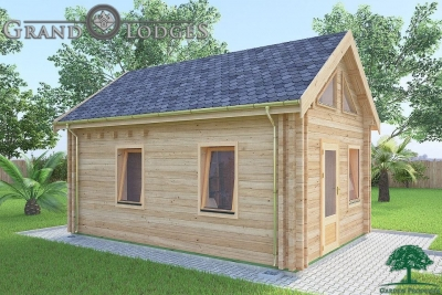 grand lodges log cabin - 0625 - 4.0m x 5.7m - 01