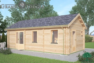 grand lodges log cabin - 0633 - 4.0m x 8.0m - 01