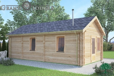 grand lodges log cabin - 0641 - 4.0m x 8.0m - 01
