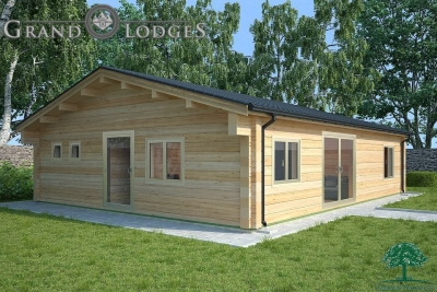grand lodges log cabin - 0897 - 11.0m x 8.5m - 01