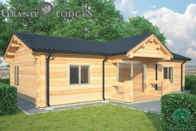 grand lodges log cabin - 0903 - 11.0m x 5.5m - 01