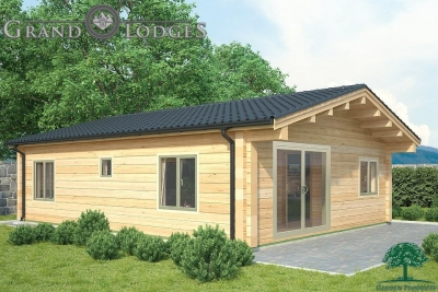 grand lodges log cabin - 0919 - 7.0m x 9.0m - 01