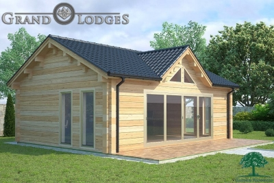 grand lodges log cabin - 0921 - 8.0m x 6.0m - 01