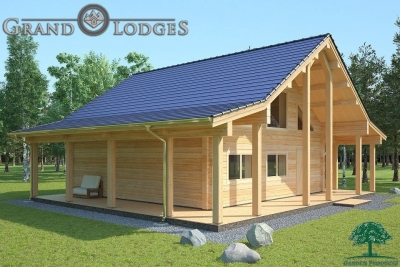 grand lodges log cabin - 1135 - 8.5m x 8.5m - 02