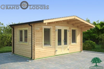 grand lodges log cabin Baku - 5.0m x 3.0m - 01