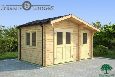 grand lodges log cabin Busan - 4.5m x 3.0m - 01
