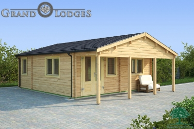 grand lodges log cabin Dubai - 6.0m x 6.0m - 01