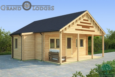 grand lodges log cabin Hanoi - 6.0m x 8.0m - 01