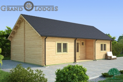 grand lodges log cabin London - 11.0m x 6.0 - 01