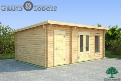 grand lodges log cabin Manila - 6.0m x 4.0m - 01