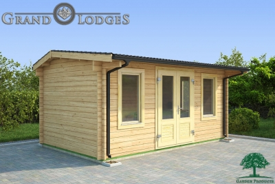 grand lodges log cabin Salvador - 5.0m x 3.0m - 01