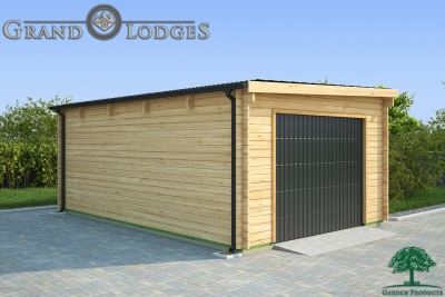 grand lodges log cabin Santiago - 4.0m x 6.0m - 01