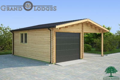 grand lodges log cabin Shantou - 6.0m x 6.0m - 01