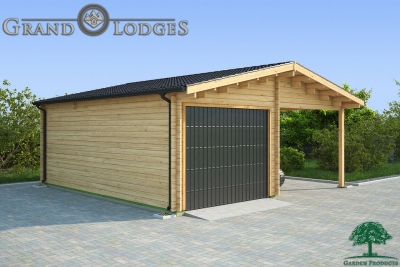 grand lodges log cabin Singapore - 6.0m x 6.0m - 01