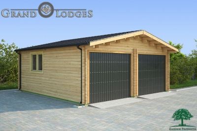 grand lodges log cabin Sydney - 6.0m x 6.0m - 01