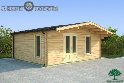 grand lodges log cabin Vienna - 6.0m x 5.0m - 01