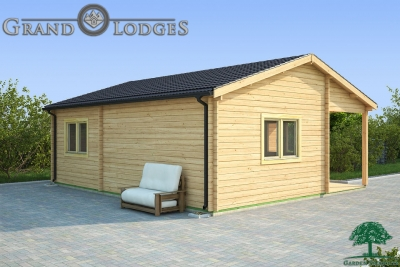 grand lodges log cabin Warsaw - 7.0m x 6.0m - 01