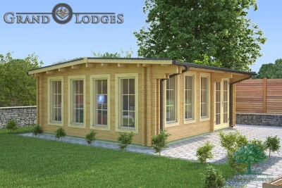 River Range Log Cabin - Somerset 3572 - 6.0m x 5.0m