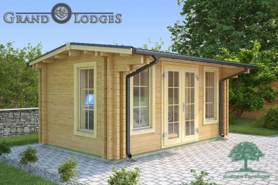 River Range Log Cabin - Cornwall 3573 - 4.75m x 2.95m