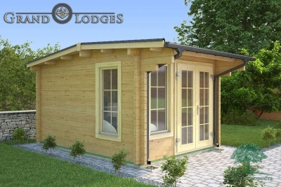 River Range Log Cabin - Cornwall 3574 - 3.0m x 4.0m