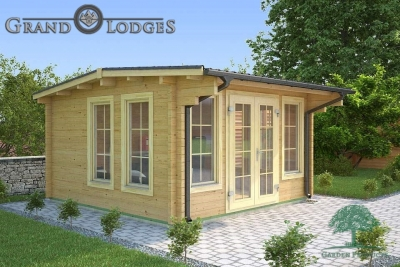 River Range Log Cabin - Cornwall 3575 - 4.0m x 4.0m