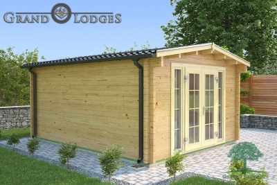 River Range Log Cabin - Cornwall 3577 - 5.0m x 4.0m