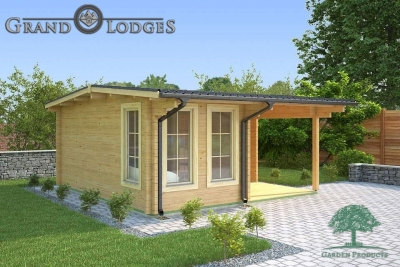 River Range Log Cabin - Devon 3580 - 4.75m x 5.0m