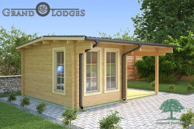 River Range Log Cabin - Devon 3581 - 5.0m x 4.0m
