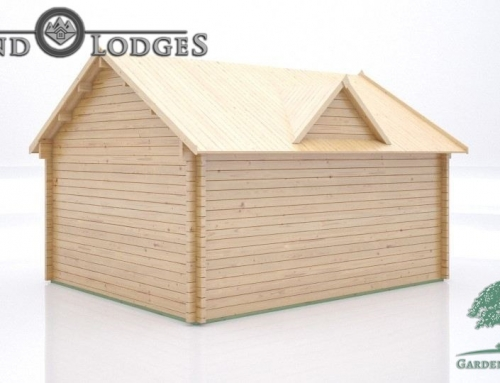 GP Bespoke Log Cabin – 2437 – 5.0m x 4.0m – Clockhouse Body