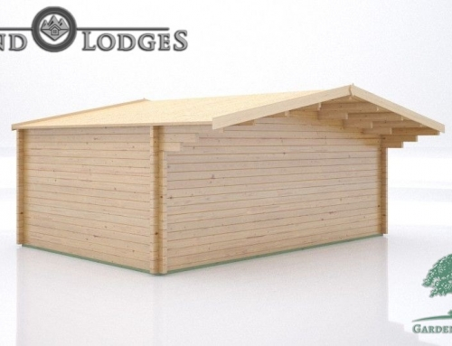 GP Bespoke Log Cabin – 2489 – 5.9m x 4.0m – Johnsons Body