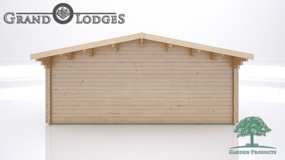 GP Bespoke Log Cabin - 2489 - 5.9m x 4.0m - Johnsons Body