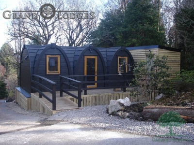 Grand Lodges Camping Pods Scotland